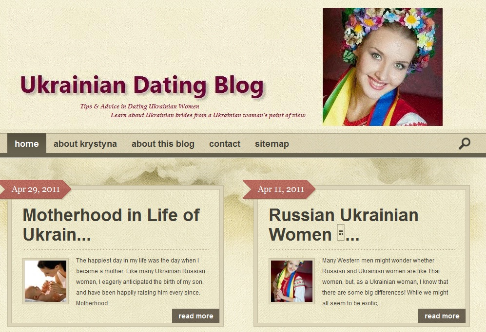 Ukrainian Dating Blog - Learn More About Ukraine Women!